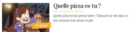 Mademoizelle Pizza